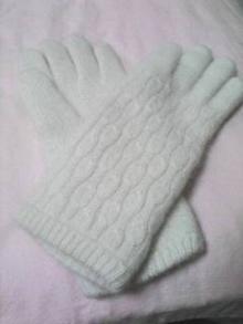 おニュー手袋