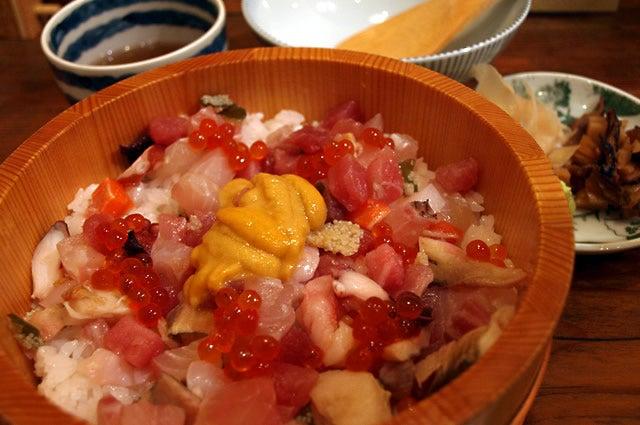 【和食】 虎杖 裏店 海鮮ひつまぶし