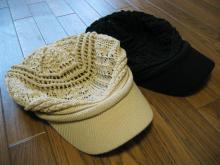 お気に入りの帽子~♪