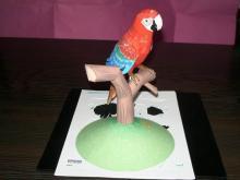 EPSON Red Parrot Papermodel