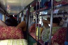 中国寝台バス