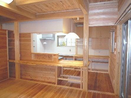 松島匠建の建てる木の家 「太田生品の家」Web日誌-仕上がり