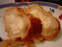 フランスパンの詰め物