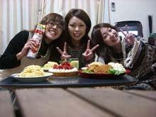 聖なる夜に、女3人