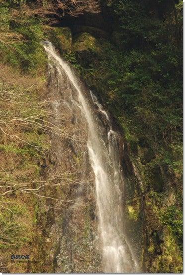 碧流の滝上部
