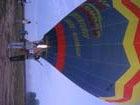 気球で空へ