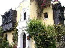 una casa linda