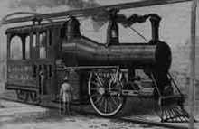 Unicycle Railroad locomotive