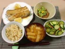 05年10月3日夕食