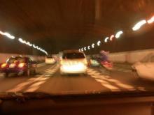 大渋滞の中大阪へ