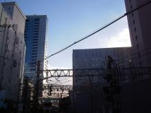 続 東京百景(BETA version)-#018 南新宿の空と小田急線と