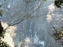震動の滝(雌滝展望台)