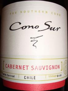 Cono Sur Cabernet Sauvignon 2006