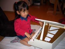 プレゼントのピアノ