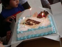 birthday cake for L