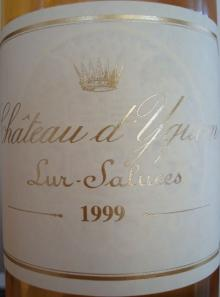 Ch dYquem 1999