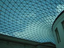 美しいガラス天井