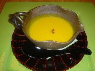 洛陽荘 かぼちゃスープ