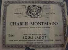 Chablis Montmains Louis Jadot