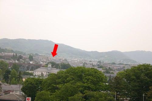 松本城からの眺め