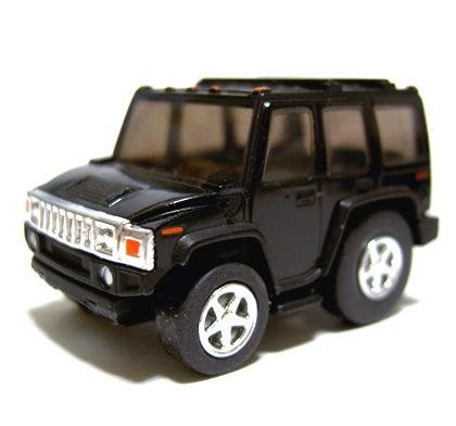 HUMMER import car series side