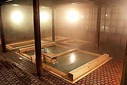 大滝乃湯の温泉浴場