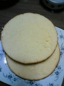 ケーキ入党!