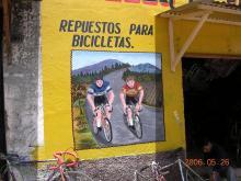 コマラパの自転車修理屋