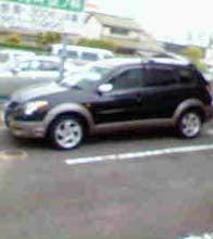 僕の車です。