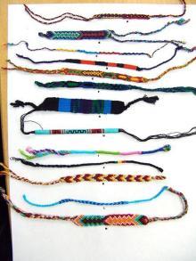 グアテマラ織りのブレスレット