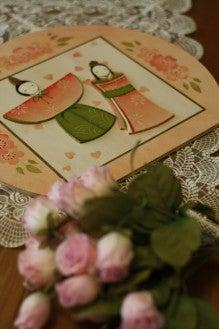 トールペイントでロマンティックな贈り物