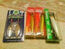 Fishing Blog OFFSHORE CRAZY! ~ 夢は一発大物!   鮪だ!鰤だ!大政だ!巨カンパだ!大鯛だ!なんでもこ~い!-お買い上げ~