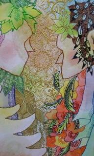 Kyoto? Unite? Art? Design!-welcome board 1