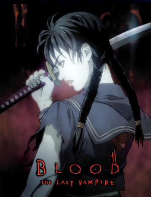BLOOD THE LAST VAMPIRE Blu-ray
