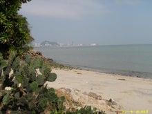 スノーキーのブログ-ペナン島砂浜