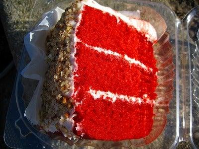 ニューヨークの天丼はうまかった?! ★♪☆ 店長Naomiとスタッフのマンハッタン買い付け日記 ☆♪★-レッド・ベルベットケーキ