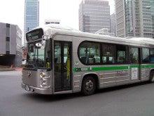 カルマンギアのある生活-かっこいい都バス