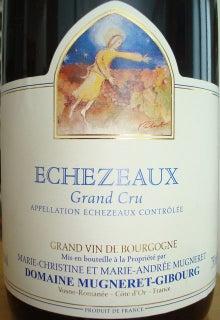 個人的ワインのブログ-Echezeaux Mugeret Gibourg 2005