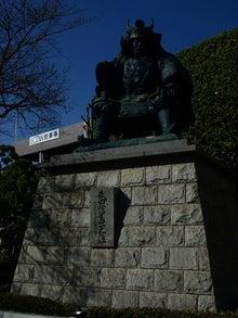 かっちゃんの日記-武田信玄公の銅像