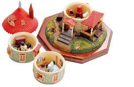 cinnamon log-moomin house