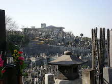 夫婦世界旅行-妻編-墓の山