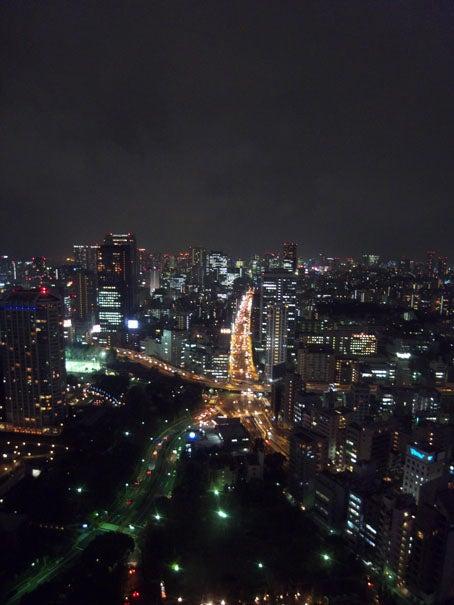 ケロケロの散歩道-東京夜景2