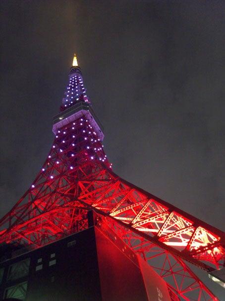 ケロケロの散歩道-東京タワー