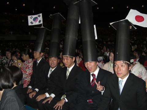 大阪で生まれたおっさんやさかい。-角帽リターンズ