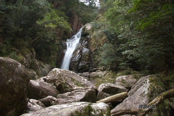 清流の森 ~九州の滝と風景~-紅葉の滝1