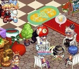 仮想現実-晩餐だぁ!じゅるり(´¬`)
