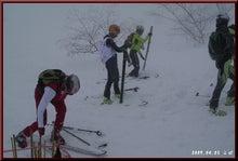 ロフトで綴る山と山スキー-選手到着