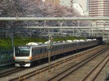 中央線の電車と釜-H43