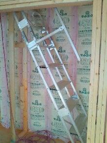 建築士の日記-現場梯子