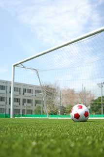 駒木会みんなのBLOG-サッカーゴールとボール